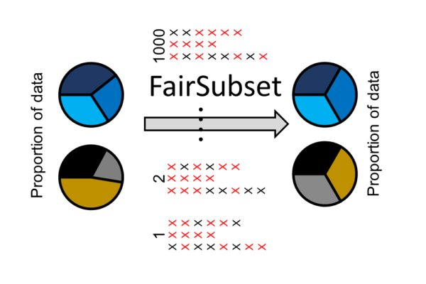 FairSubset: equal N representative data
