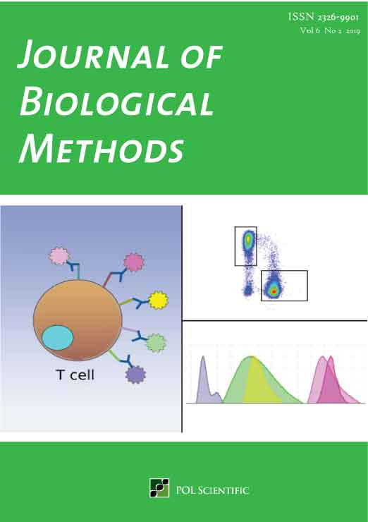 Journal of Biological Methods (JBM) Cover Image